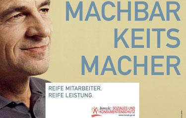 Bundesministerium für Soziales und Konsumentenschutz BMSK Referenzkunde der PR Agentur Martschin & Partner