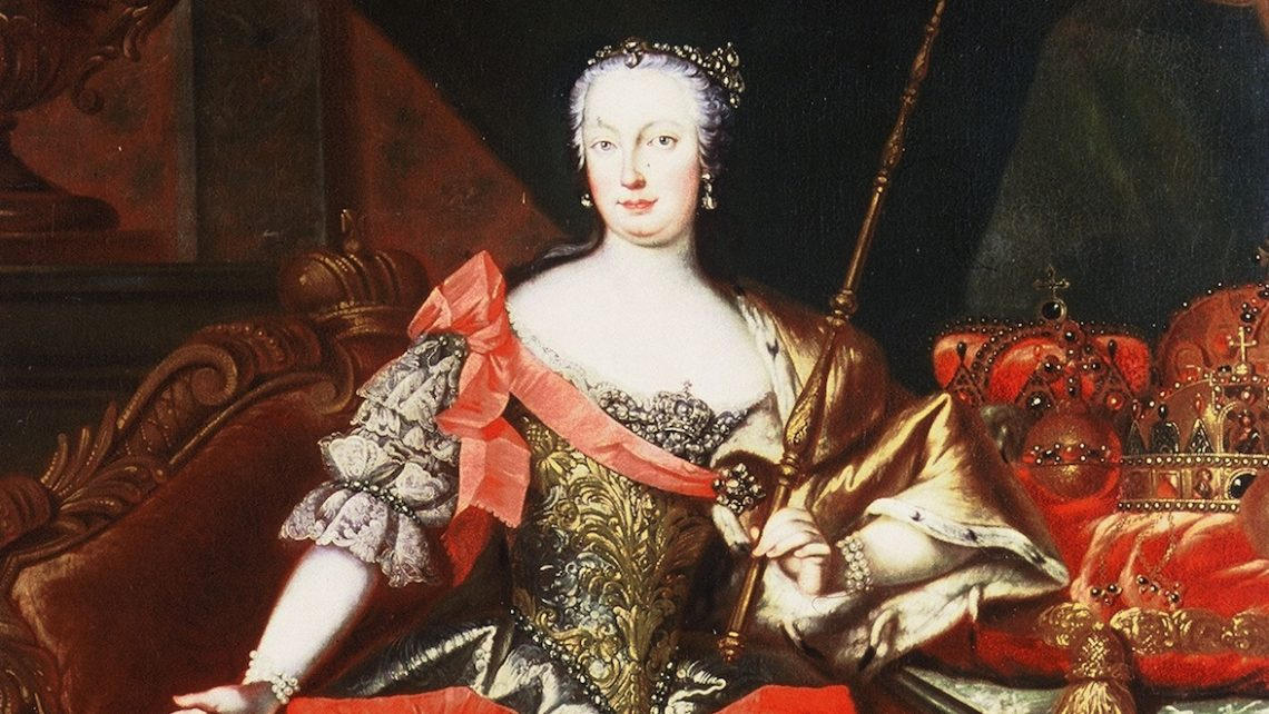 Maria Theresia, Portrait im Ahnensaal, Hofburg, Bundesdenkmalamt © BDA